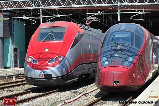Treni AV Frecciarossa e Italo